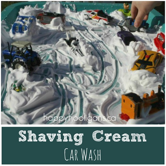 shaving-cream-car-wash